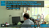A tip for Small and Medium Enterprise entrepreneurs: get Ultra-Fast Broadband at home