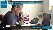 Making a difference in disability services